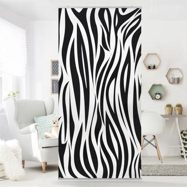 Tenda a pannello Zebra Pattern 250x120cm