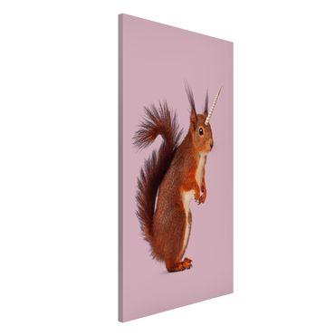 Lavagna magnetica - Unicorn Squirrel - Formato verticale 4:3