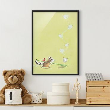 Poster con cornice - Vasily Saves Elsa - Verticale 4:3