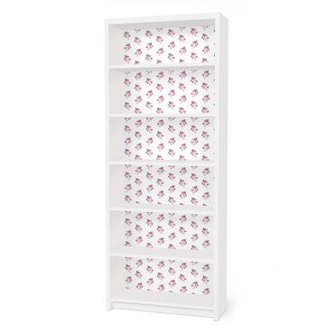 Carta adesiva per mobili IKEA - Billy Libreria - English tea roses