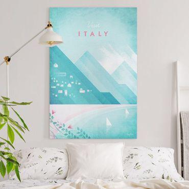 Stampa su tela - Poster di viaggio - Italia - Verticale 3:2