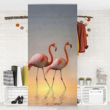 Tenda a pannello - Flamingo Love - 250x120cm