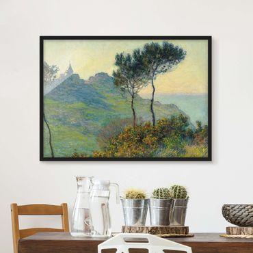Poster con cornice - Claude Monet - Varengeville Evening Sun - Orizzontale 3:4