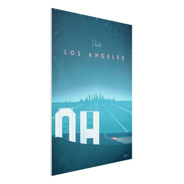 Stampa su Forex - Poster Travel - Los Angeles - Verticale 4:3