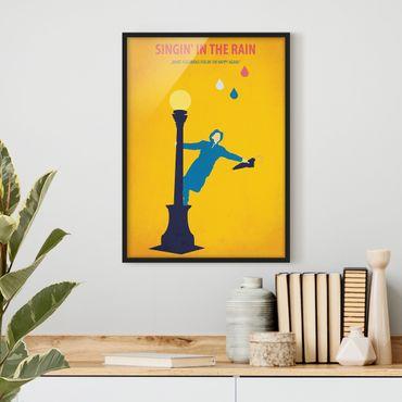 Poster con cornice - Poster di film Cantando sotto la pioggia - Verticale 4:3