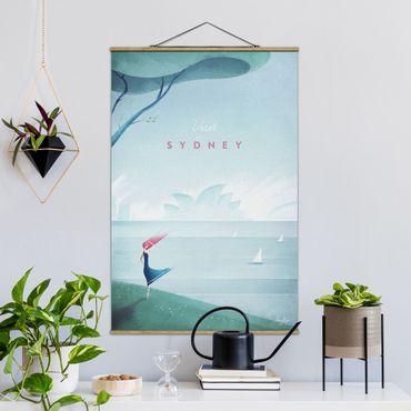 Foto su tessuto da parete con bastone - Poster Viaggi - Sidney - Verticale 3:2