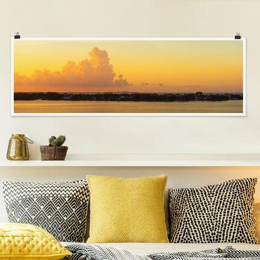 Poster - Messico Tramonto - Panorama formato orizzontale