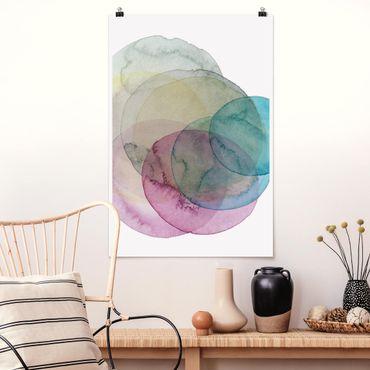 Poster - Big Bang - Rosa - Verticale 3:2