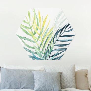 Esagono in forex - Tropical Foliage - Palma
