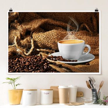 Poster - Morning Coffee - Orizzontale 2:3