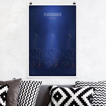 Poster - Film Poster Flashdance - Verticale 3:2