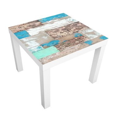 Carta adesiva per mobili IKEA - Lack Tavolino Maritime Planks
