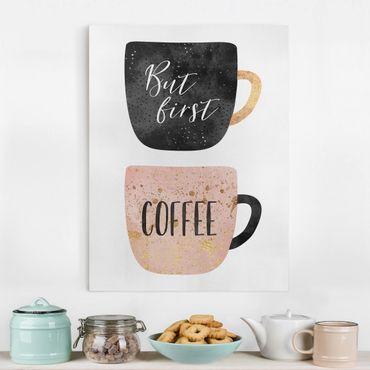 Quadri su tela - Ma prima, caffè