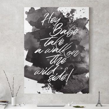 Stampa su tela - Take A Walk On The Wild Side - Verticale 3:4