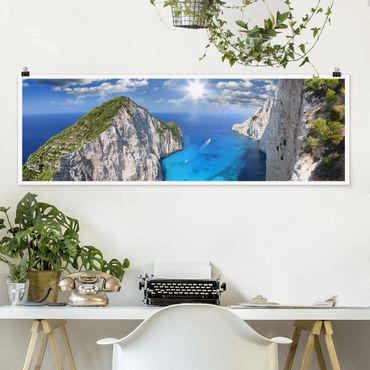 Poster - baia - Panorama formato orizzontale
