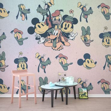 Carta da parati per bambini - Mickey Fab5 - Komar fotomurale