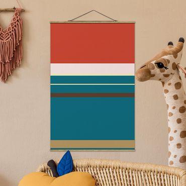 Foto su tessuto da parete con bastone - Film Poster Merida - Verticale 3:2