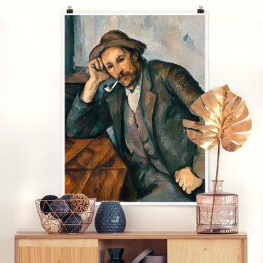 Poster - Paul Cezanne - il fumatore - Verticale 4:3