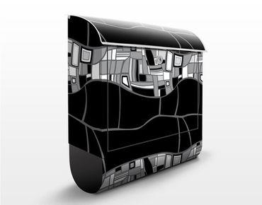 Cassetta postale Modern Surface Design 39x46x13cm