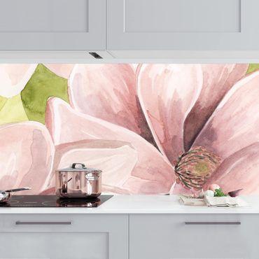Rivestimento cucina - Magnolia dipinta I