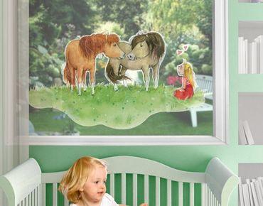 Adesivi da finestra Liese And Lotte