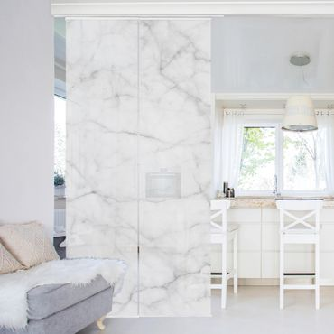 Tende scorrevoli set - Bianco Carrara