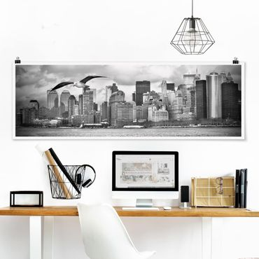 Poster - No.Yk1 New York II - Panorama formato orizzontale
