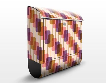 Cassetta postale Lolly Pattern Design 39x46x13cm