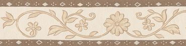 Carta da parati - A.S. Création Only Borders 9 in Beige Marrone Crema