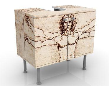 Mobile per lavabo design Da Vinci