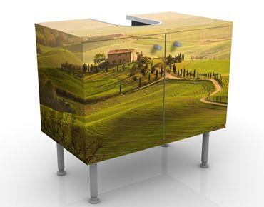 Mobile per lavabo design Chianti Toskana