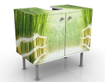 Mobile per lavabo design Bamboo Way