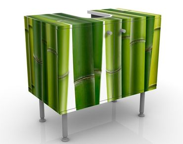 Mobile per lavabo design Bamboo Plants