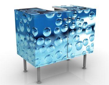 Mobile sottolavabo - Bolle scure - Mobile bagno blu