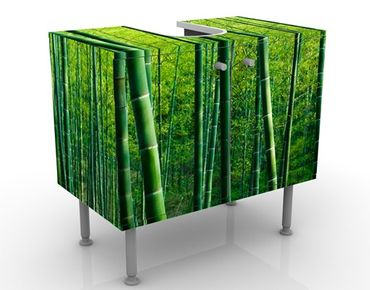 Mobile per lavabo design Bamboo Trees No.2