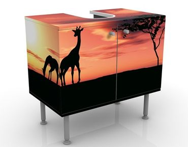 Mobile per lavabo design African Life