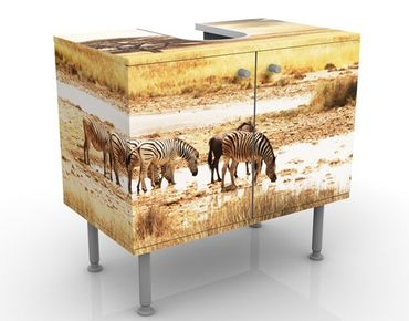 Mobile per lavabo design The Life Of The Zebras