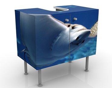 Mobile per lavabo design Batoidea