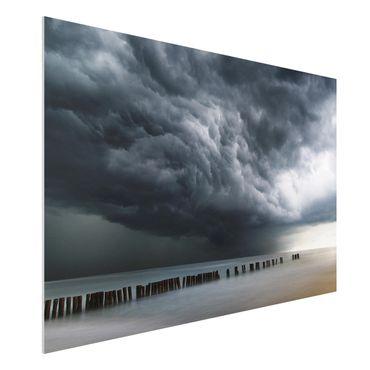 Quadro in forex - Nubi di tempesta sul Mar Baltico - Orizzontale 3:2