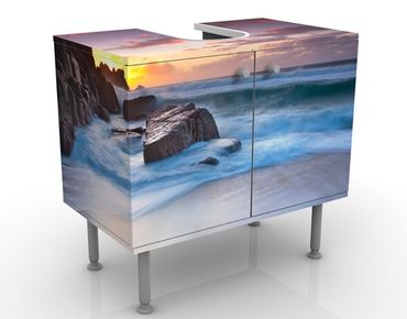 Mobile per lavabo design At The Sea In Cornwall