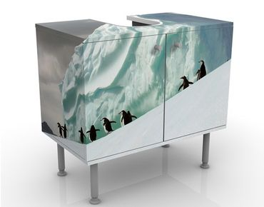 Mobile per lavabo design Arctic Penguins