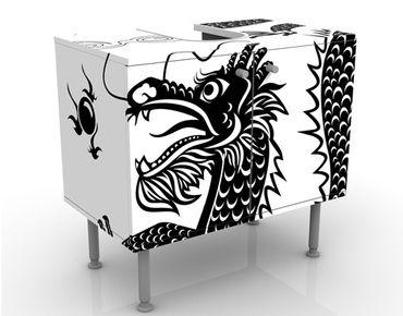 Mobile per lavabo design Asian Dragon