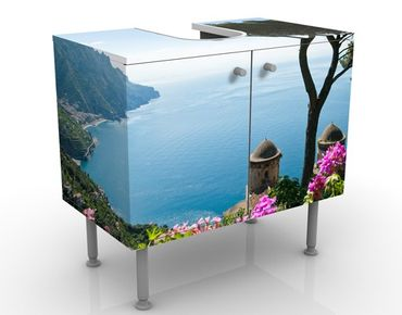 Mobile per lavabo design View From The Garden Over The Sea