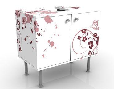 Mobile per lavabo design Apricot Blossom