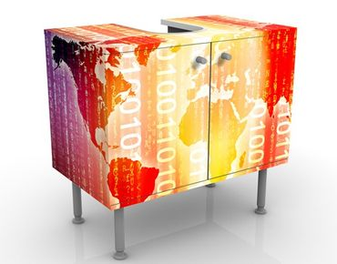 Mobile per lavabo design Digital World