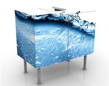 Mobile per lavabo design Beautiful Wave