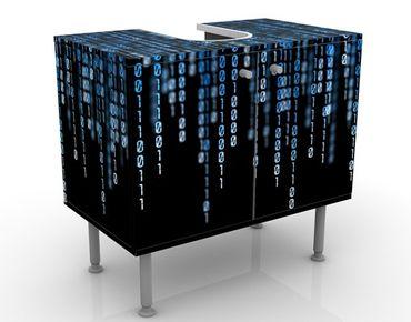 Mobile per lavabo design Binary Code
