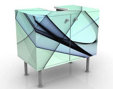 Mobile per lavabo design Autumn Shapes