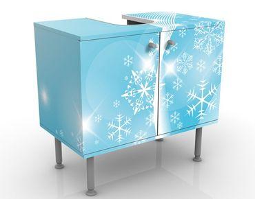 Mobile per lavabo design Ice & Glitter