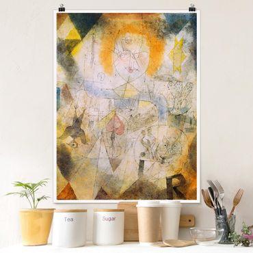 Poster - Paul Klee - Irma Rossa - Verticale 4:3